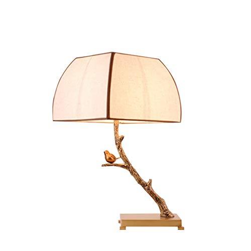 Tischlampe Nachttischlampe Europäische Kreativgeschenk Studie Wohnzimmer Schlafzimmer Kinderzimmer Studentenwohnheim 15 watt 455 (Color : A)