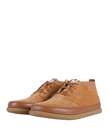 Fois classic mid suede Brown - Chaussures marrons cuir daim Marron