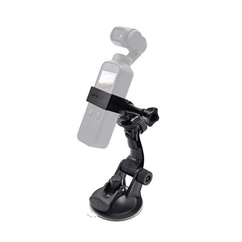 Prevently Multifunktional Saugnapf Autohalterung 1/4 Saugnapf Auto Halterung Erweitern Zubehör für DJI Osmo Pocket Camcorder Mount Adapter Platte Halterung