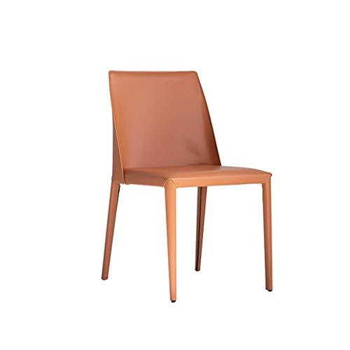 CHANG XU DONG SHOP Accent Leather Dining Chair Moderner minimalistischer Designstuhl Kosmetikstuhl Arbeitsstuhl Home Dining Chair -