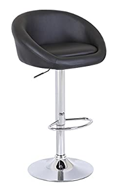 HNNHOME Modern Design Venus Swivel Kitchen Breakfast Bar Stools - low-cost UK bar stool store.