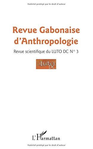 Revue gabonaise d'anthropologie n° 3