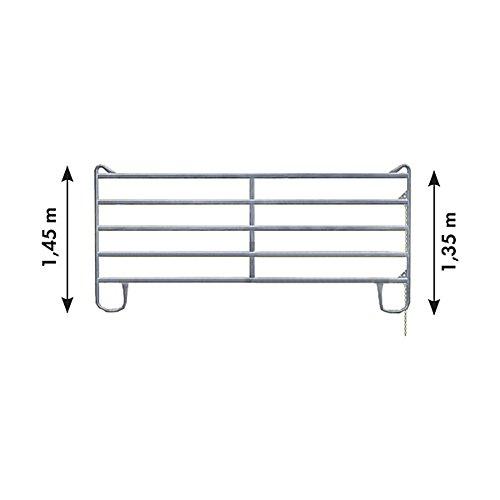 Panel-5 3,60 m Breite 3,60 m, Höhe 1,45 m (2 Mittelstreben) - 310411 -
