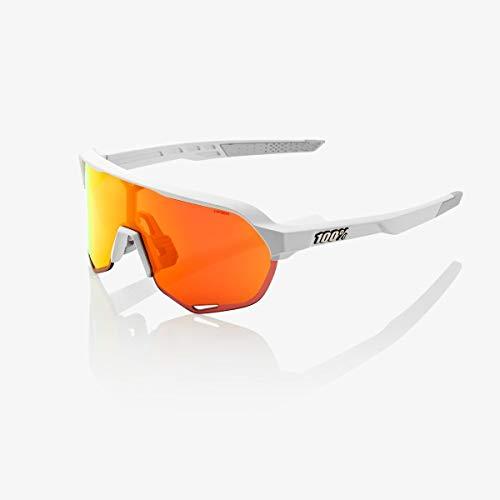 100% S2 Hiper Mirror Glasses Matte Off White 2019 Fahrradbrille