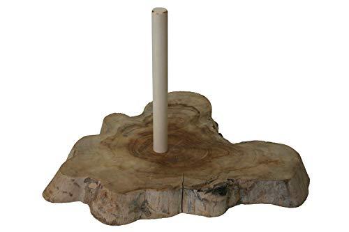 Didgeridoo Ständer Einzelstück 10 - exclusives Teak Wurzelholz - für 1 Didgeridoo