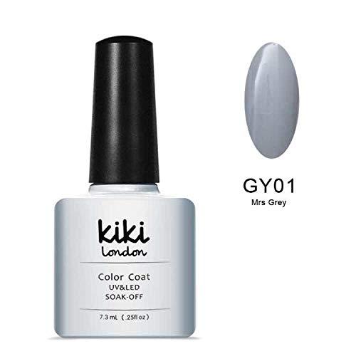 Mrs Gris - Gris clair à ongles gel Couleurs par Kiki Londres. G4GADGET Nail Gel PX