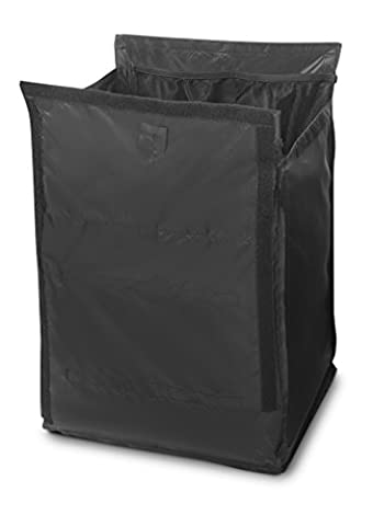 Rubbermaid 1902703 Quick Cart Replacement Liner (Small, Pack of 6) Black