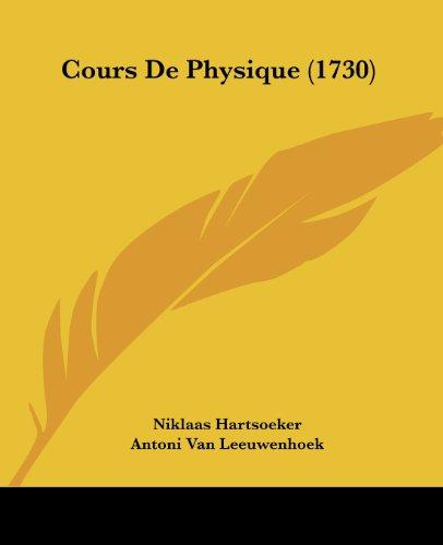 Cours de Physique (1730)