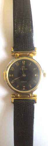 ladies-black-face-2-tone-gold-and-silver-date-watch