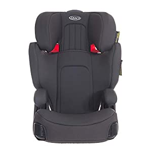 Graco Assure GRP 2/3 Booster Car Seat, Midnight Grey G&F ♣Material:66% polyester / 32% rayon / 2% spandex ♣Easy-to-use pouch calms newborns. No wrapping, adjusting, or tying -- just slip baby in the pouch ♣Mom can enjoy their newborns and take babies on adventures right from the start 8