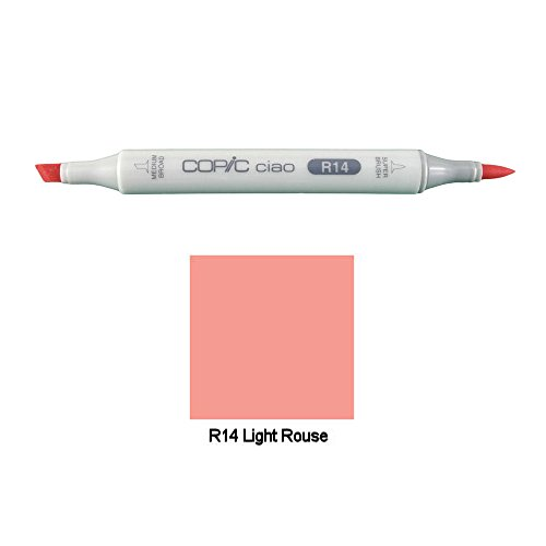 Copic Ciao R14 Light Rouse Marker mit 2 Spitzen - Copic Ciao Marker Light