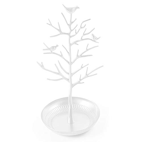 wlgreatsp Dekorative Vögel Baum Schöne Ohrringe Rahmen Schmuck Rack Hause Juweliergeschäft Ohrring Baum Shaped Modisch