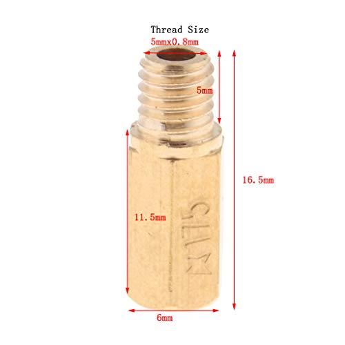oro Chengyida 500PCS lotto 2/cm Calabash lampadina zucca a forma di pera piccolo Coilless tag Craft Safety pins