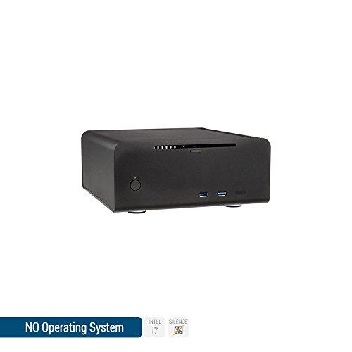Sedatech - Mini-PC Evolution Intel i7-7700T 4x 2.90Ghz (max 3.8Ghz), Intel HD Graphics 630, 8Go RAM DDR4, 1To HDD, 120Go SSD, DVD-RW, USB 3.0, Résolution 4K, Wifi, Bluetooth, sans OS