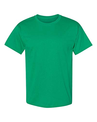 Hanes TAGLESS® T-Shirt S Green - Tagless Crewneck Tee