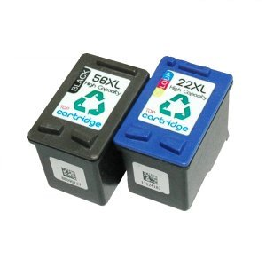 TOP cartridge Remanufactured Ink Cartridges Replacement for HP 56 and