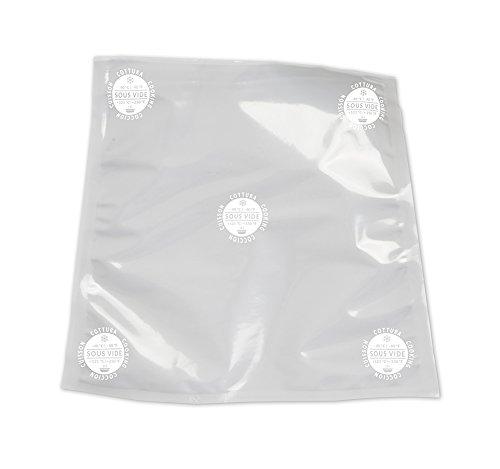 Besser Vacuum lk000C030X 040b0822a Briefumschläge für die Kochfeld in Vakuum glatten, Plastic, transparent -