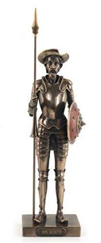 CAPRILO Figura Decorativa Resina Don Quijote Lanza