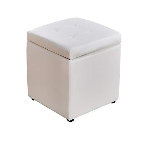 KKCD - Pouf Hocker Cube Hocker Mit Aufbewahrungskisten/Aufbewahrungsbox/Abnehmbarem Deckel/Leinenhocker Sitzhocker (Color : F) -
