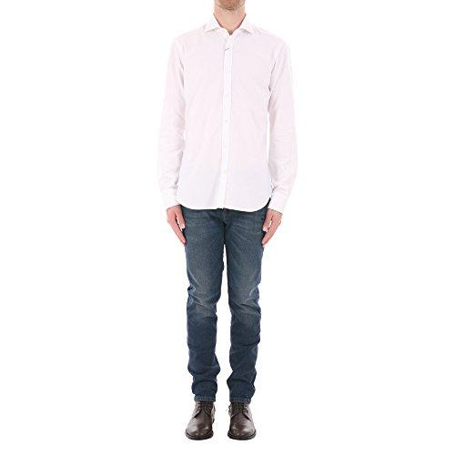 Barba Herren 495101Ut10 Weiss Baumwolle Hemd