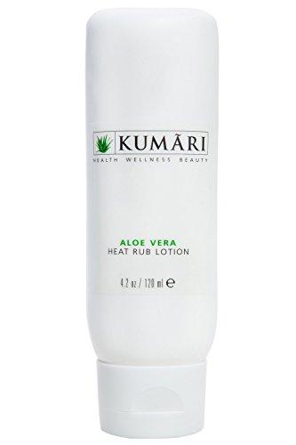 Aloe Vera Heat Rub Lotion - entspannt schmerzende Muskeln und Gelenke + Wirkstoffen Menthol und Methyl Salicytate