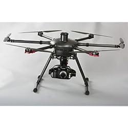 Tornado Yuneec Hexakopter incluye maletín, 2-batería, Proacción Grip, ST24 mando a distancia, de vídeo Digital Downlink y GB603 cámara de suspensión cardán para Panasonic GH3/4