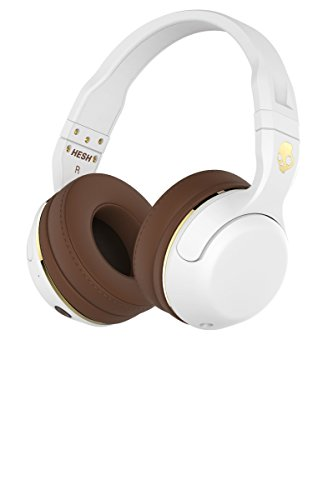 Hesh 2 Wireless Over Ear, Bianco/Marrone/Oro