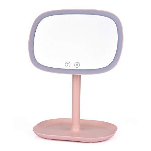 LEDHZJYLW Led Kosmetikspiegel Multifuntional Led Kosmetikspiegel Tragbare 10X Magnifyiny Compact...