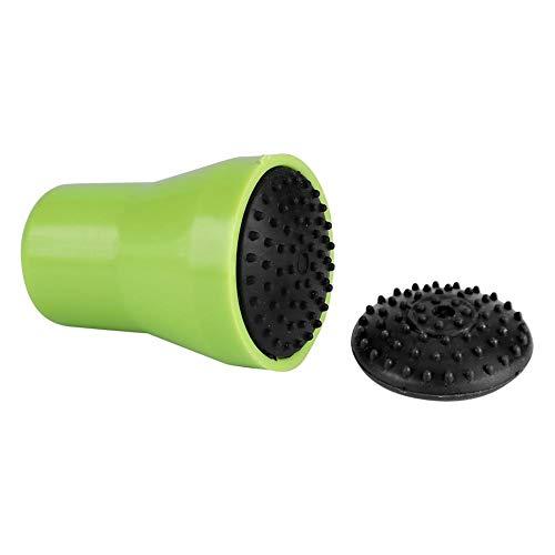 Zer one Silikon Glasflasche Magnet Spot Scrubber Magnetische Reinigungsbürste Reiniger Mini Reinigung Professionelles Werkzeug(Grün+Schwarz) (Kommerzielle Wäscher)