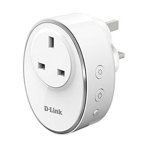 D-Link DSP-W115 mydlink WLAN Smart Steckdose-/ plug (Überwachung von Elektrogeräten via App Steuerung, funktioniert mit Google Assistant/Google Home und Amazon Alexa)