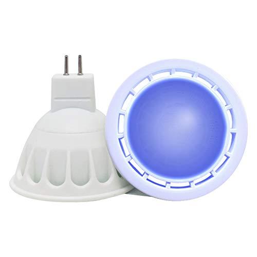 VARICART GU5.3 12V LED COB Bombilla Color Azul