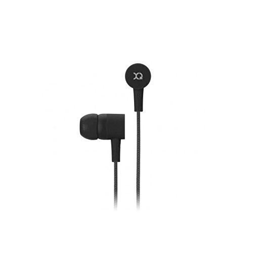 Preisvergleich Produktbild 'Xqisit ie20 Headset Binaural mit Kabellos,  schwarz Kopfhörer und Micro – Headsets und Tonabnehmer (Binaural,  Ohrhörer,  schwarz,  kabelgebunden,  PTT,  3, 5 mm (1 / 8))