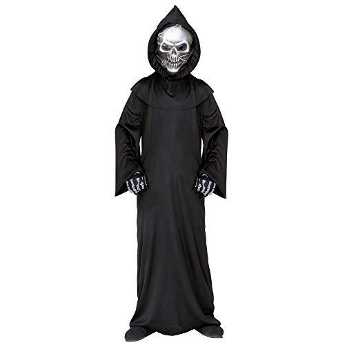 Widmann 55507 - Kinderkostüm Dämon, Umhang und Maske, Größe 140