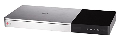 LG BP735 Lettore Blu-ray 3D Smart TV con Ulta HD-Up Scaler, Web Browser e Wi-Fi Integrato, Argento/Nero