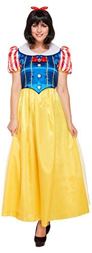 Kostüm Dress Fancy Apple - Ladies Apple Princess Adult Fairy Tale World Book Day Week Carnival Fancy Dress Costume Outfit