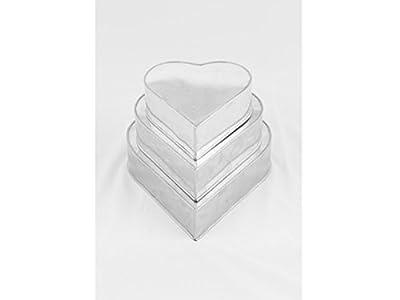 3 Tier Heart Multilayer Birthday Wedding Anniversary Cake Tins