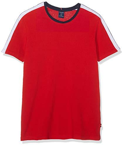 Springfield Herren 6ec Pique Banda Hombro T-Shirt, Rot (Gama Rojo 61), X-Small