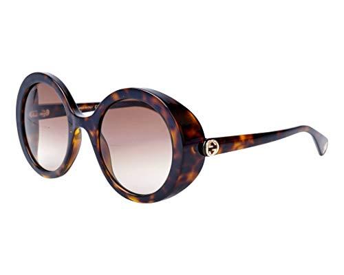Gucci Damen GG0367S-002 Sonnenbrille, Braun (Havana), 53