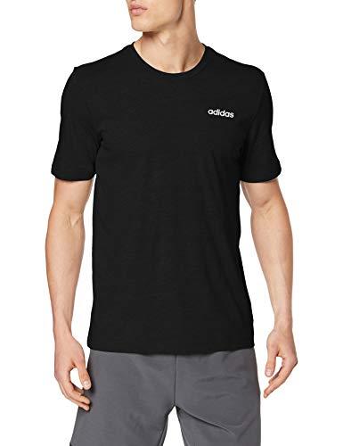 adidas Herren E PLN Tee T-Shirt, Black/White, M -