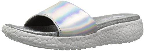 Skechers Cali Diapositive Burst Sandal silver