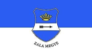 magFlags Flagge: Large Zala-megye   Zala megye   Querformat Fahne   1.35m²   90x150cm » Fahne 100% Made in Germany