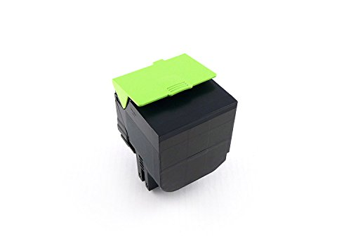 Preisvergleich Produktbild Green2Print Toner schwarz, 8000 Seiten, ersetzt Lexmark 80C0X10, 800X1, 80C2XK0, 802XK, 80C2XKE, 802XKE, Toner Kartusche passend für Lexmark CX510DE, CX510DHE, CX510DTHE