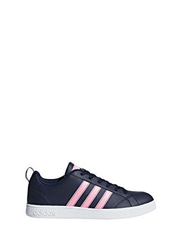 adidas Damen Vs Advantage Fitnessschuhe, Blau (Collegiate Navy/Ftwr White/Light Pink Collegiate Navy/Ftwr White/Light Pink), 40 EU