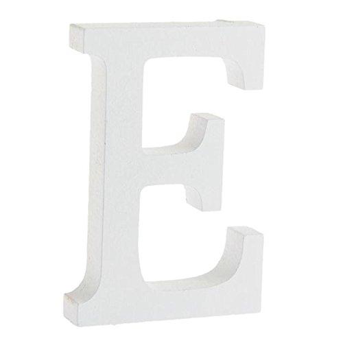 Lettera in legno a forma di e ideale per decorare la parete della camera da letto o in - Colore ideale camera da letto ...