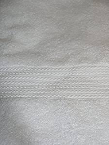 Ralph Lauren Badetuch, baumwolle, weiß, 75 x 140cm (Ralph Lauren Badetücher)