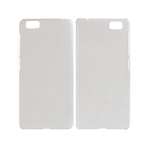 Guran® Hart Plastik Schutzhülle Case Cover für UleFone Future Smartphone Hülle Handytasche Etui-weiß