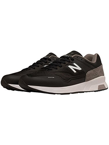 New Balance 1500 Synthetic, Formateurs Homme Noir (Black With Grey/white)
