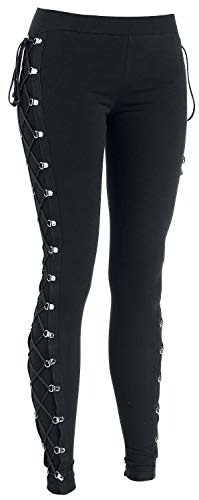 Gothicana by EMP Built For Comfort Leggins Negro XXL