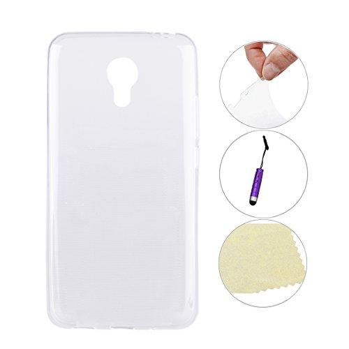 Moonmini Für Meizu Note M2 Hülle reg; Ultra Dünne Super Light freie weiche TPU Telefon Fall Abdeckung schützende Haut für Meizu M2 Note