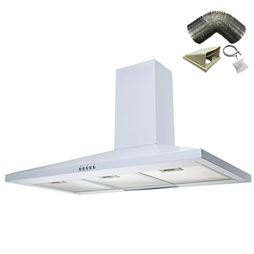 Sia Ch101wh 100cm White Chimney Cooker Hood Kitchen Extractor Fan 1m Ducting 3ecf6fbd9b Nm6786tyghg56f